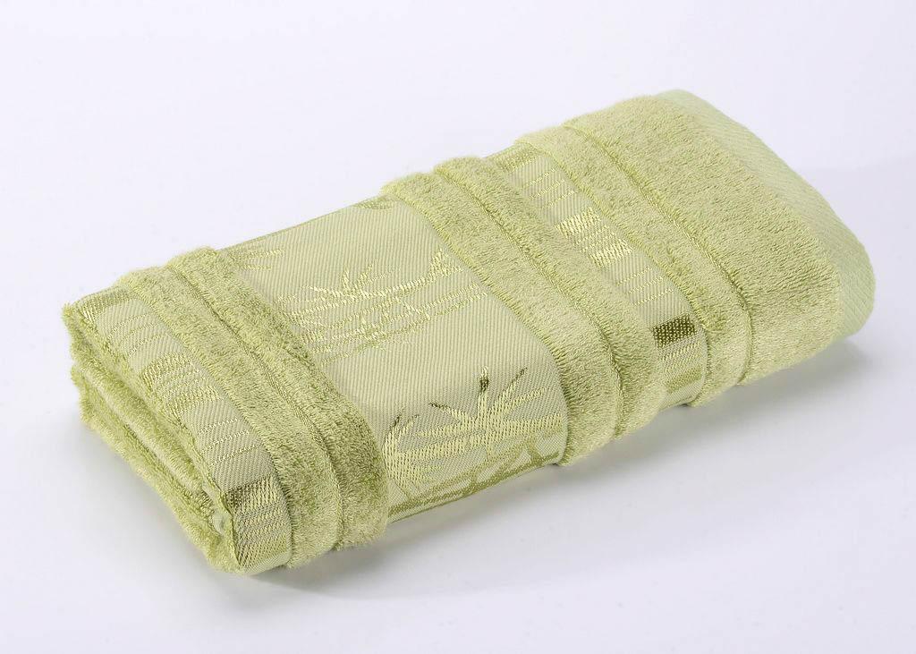 Полотенца Valtery Полотенце Bamboo CL Цвет: Зеленый (70х140 см)