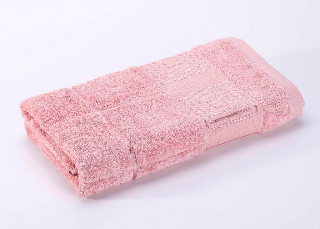 где купить Полотенца Valtery Полотенце Miranda Цвет: Пудра (70х140 см) по лучшей цене