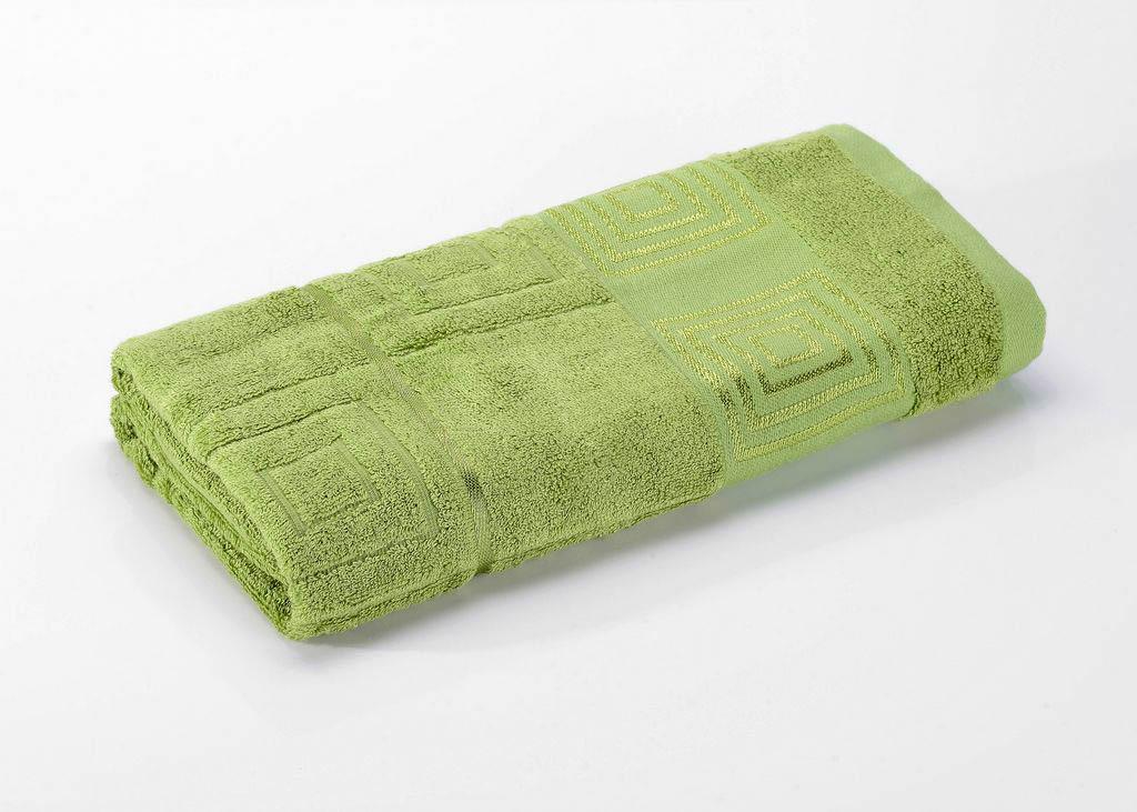 где купить Полотенца Valtery Полотенце Miranda Цвет: Зеленый (70х140 см) по лучшей цене