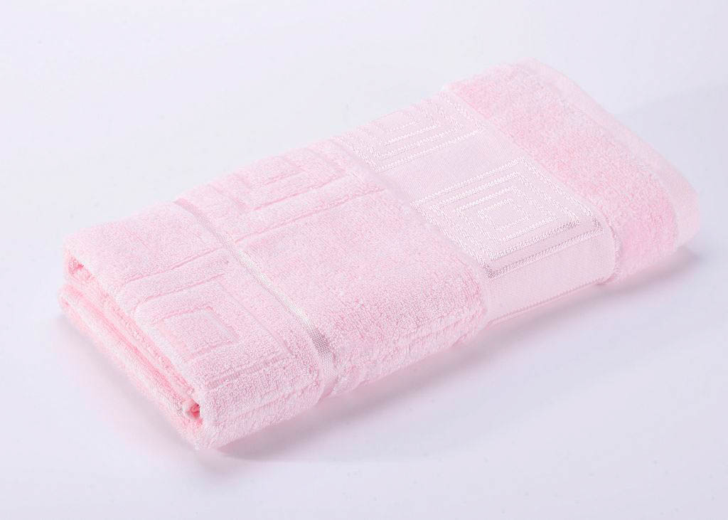 Полотенца Valtery Полотенце Miranda Цвет: Светло-Розовый (70х140 см)