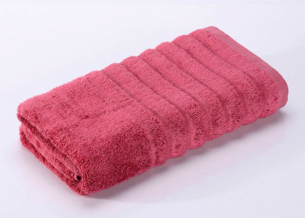 Полотенца Valtery Полотенце Wellness Цвет: Малиновый (30х50 см)