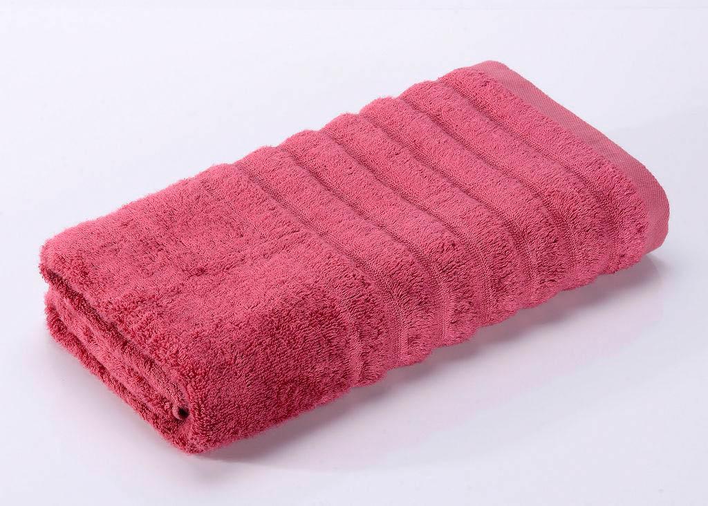 Полотенца Valtery Полотенце Wellness Цвет: Малиновый (50х90 см)