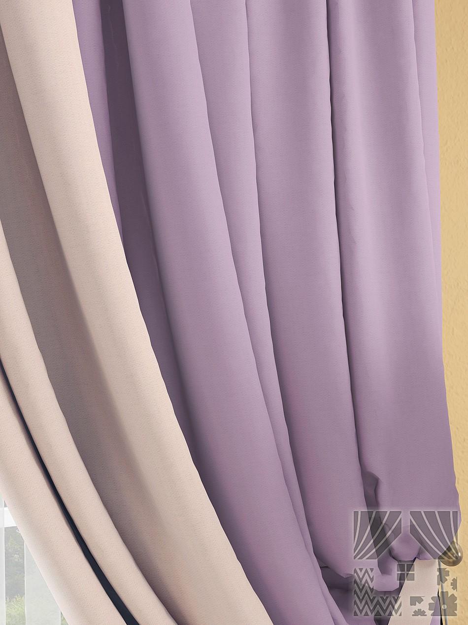 Шторы ТомДом Классические шторы Фонти Цвет: Лавандовый шторы tac классические шторы winx цвет персиковый 200x265 см