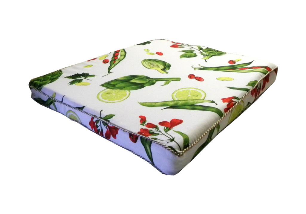 Подушки на стул Valtery Подушка на стул Артишок  (45х45) подушка на стул арти м райский сад