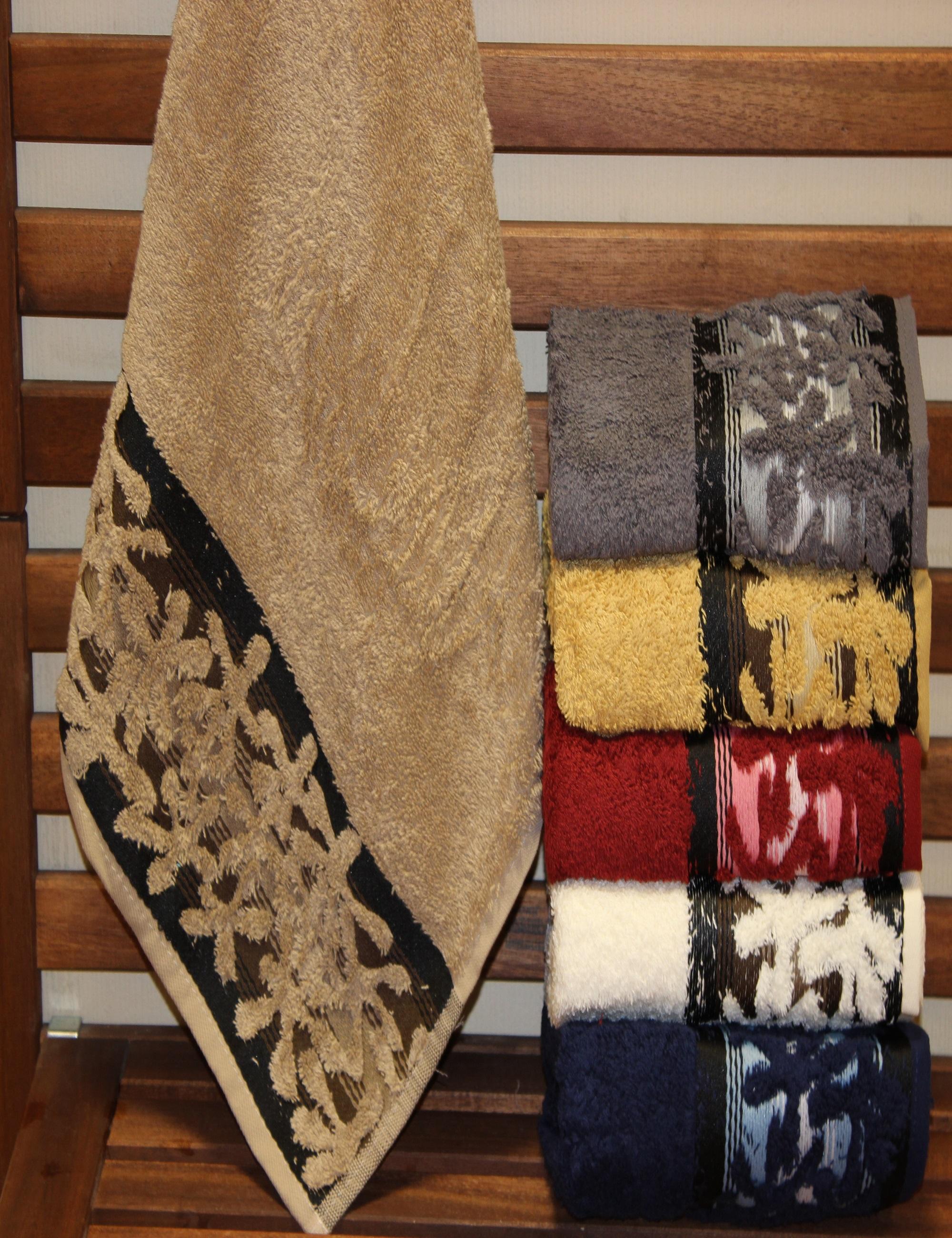Полотенца Sikel Полотенце Yildiz (50х90 см - 6 шт) набор из 3 полотенец merzuka sakura 50х90 2 70х140 8432 терракотовый