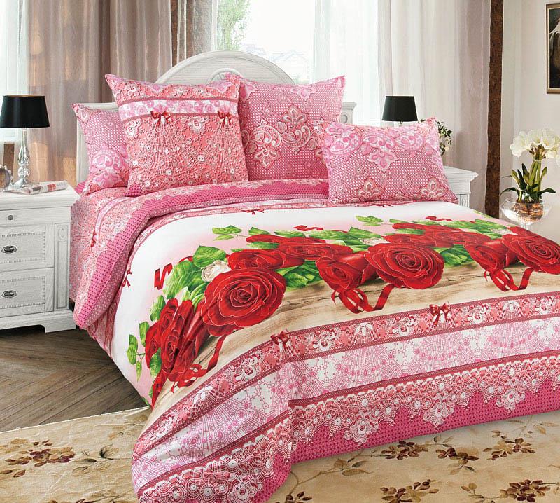 где купить Постельное белье Примавера Постельное белье Розы (1,5 спал.) по лучшей цене