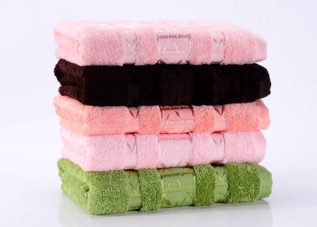 Полотенца Valtery Полотенце Bamboo PR Цвет: Светло-Розовый (70х140 см)