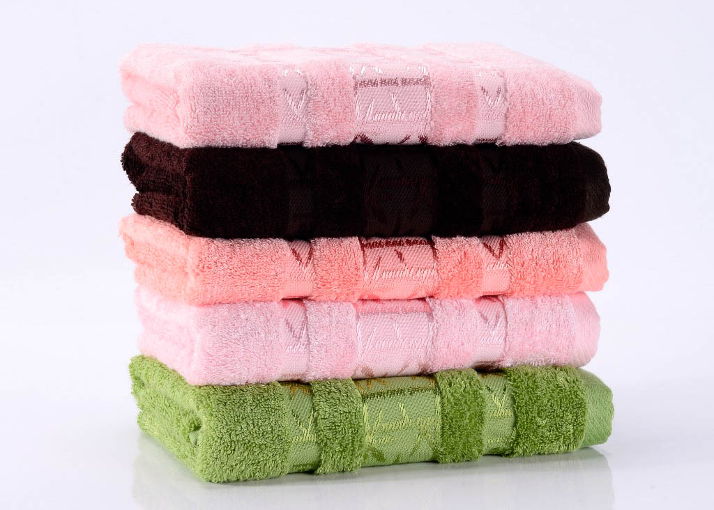 Полотенца Valtery Полотенце Bamboo PR Цвет: Розовый (70х140 см)