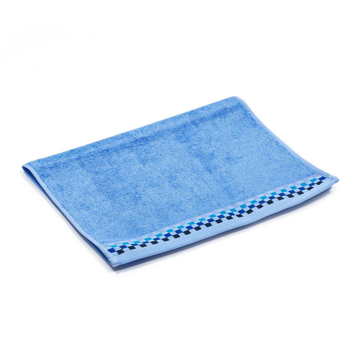 Полотенца Гранд Стиль Полотенце Katerino Цвет: Голубой (34х72 см)