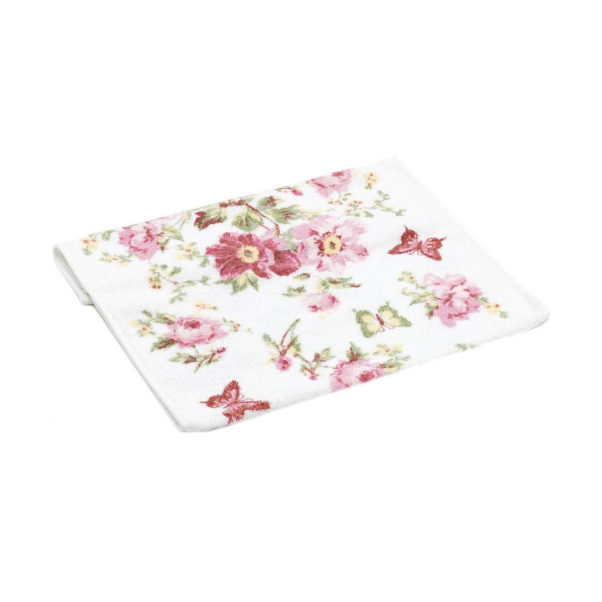 Полотенца Гранд Стиль Полотенце Silvia Цвет: Розовый (34х72 см)