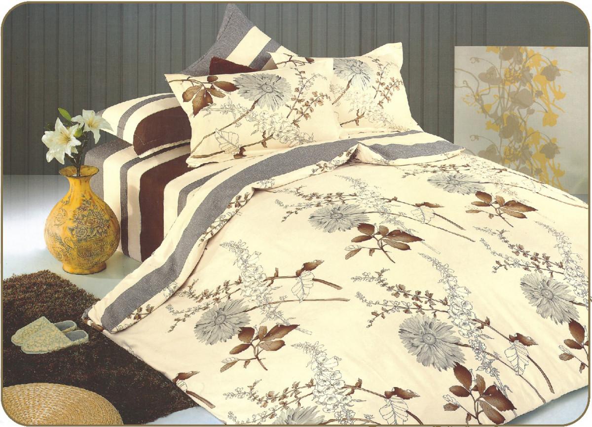 Постельное белье Valtery Постельное белье Cerveno (2 сп. евро) постельное белье адель шоколад евро