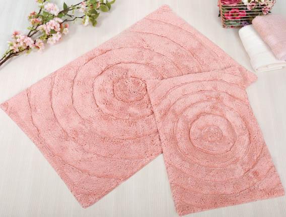 Аксессуары для ванной и туалета IRYA Коврик для ванной Waves Цвет: Розовый (70х120 см) аксессуары для ванной и туалета irya коврик для ванной tropic цвет салатовый 60х100 см