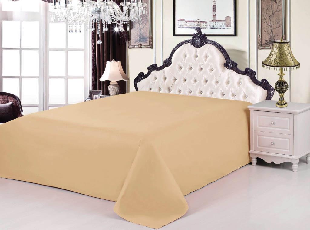 {} Valtery Простыня Linn Цвет: Горчичный (200х220) every набор чехлов для дивана every цвет горчичный