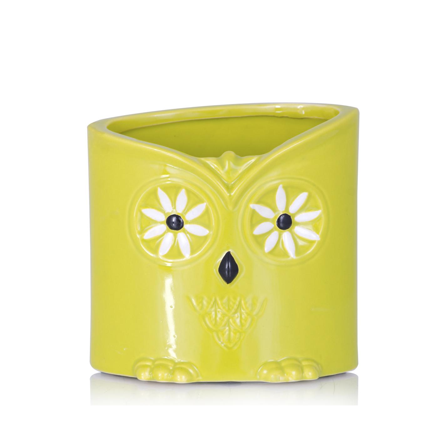 {} Home Philosophy Ваза Ezra Цвет: Желтый (7х12х13 см) ваза сияние цвет желтый 51 см 1984744