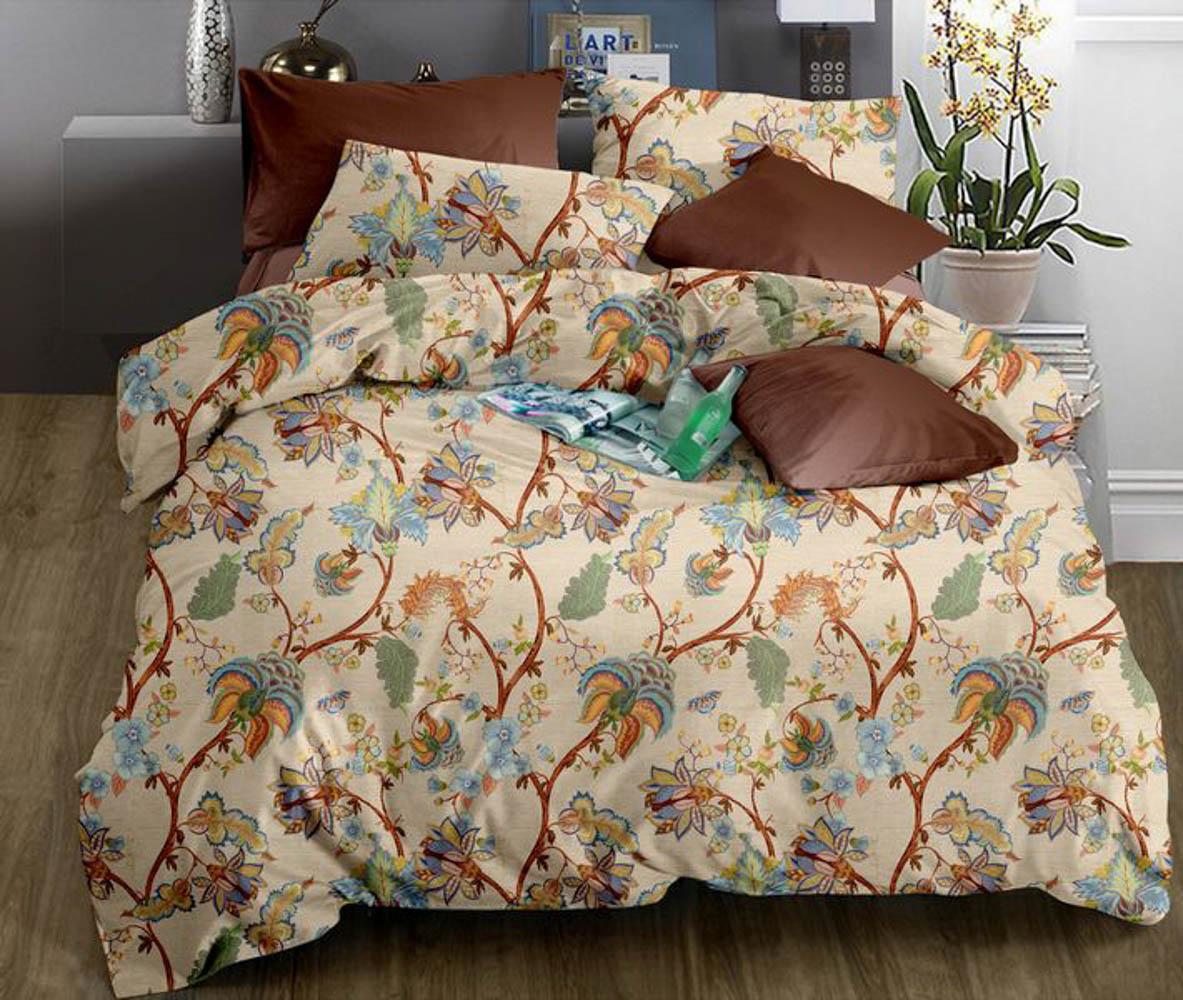 Постельное белье Valtery Постельное белье Orlena (семейное) постельное белье семейное люблю котов сирень постельное белье семейное люблю котов