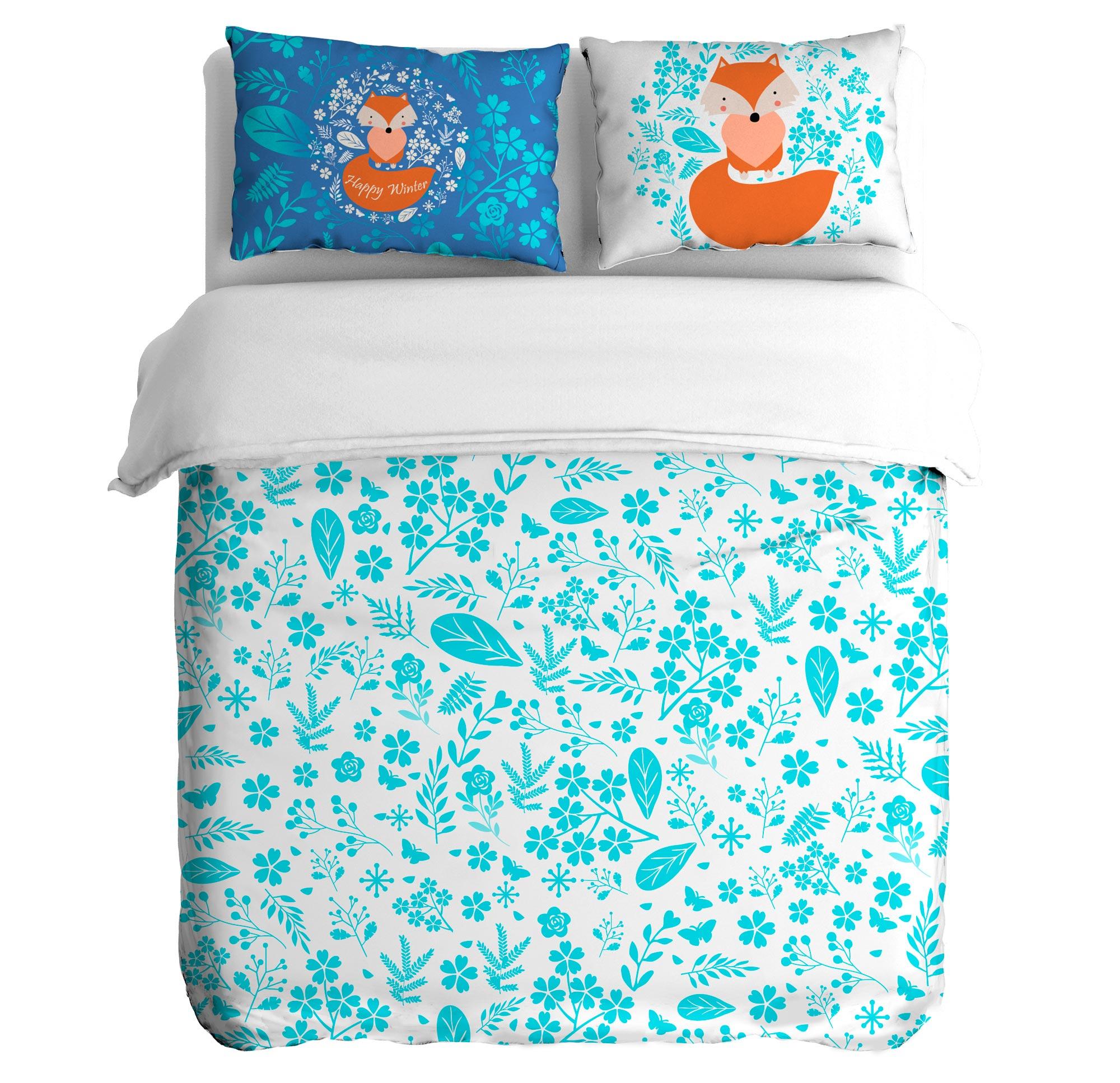 Постельное белье Peach Постельное белье Blue frosting (1,5 спал.) постельное белье kidboo blue marine 4 предмета