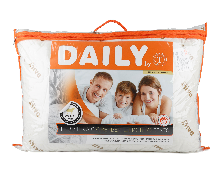 Подушки DAILY by T Подушка Вита (50х70) ultra vita man daily multi 90 caplets free shipping
