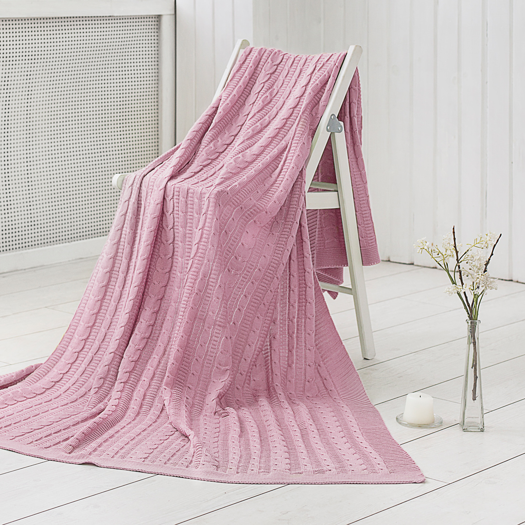 Плед Dome Плед Kappe Цвет: Розовый (150х200 см)