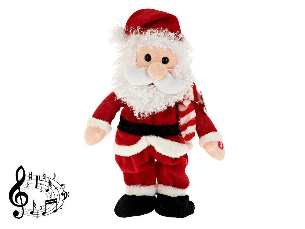 {} Monte Christmas Фигурка музыкальная Санта (34 см) monte christmas фигурка музыкальная monte christmas n9750006 мульти