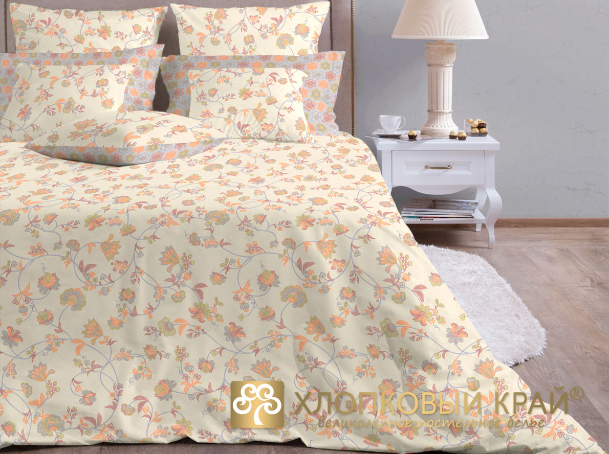 Постельное белье Хлопковый Край Постельное белье Элизабет (семейное) ecotex постельное белье элизабет