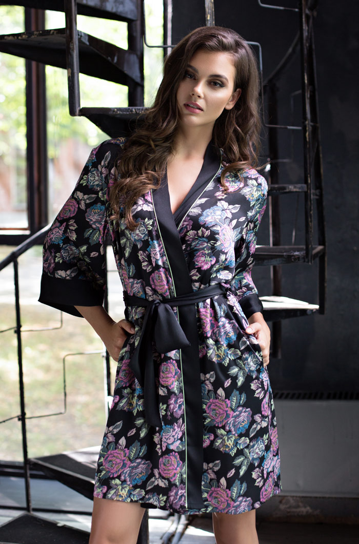 Домашние халаты Mia-Mia Домашний халат Sharlotta (xS-S) домашние халаты mia mia домашний халат yesenia s