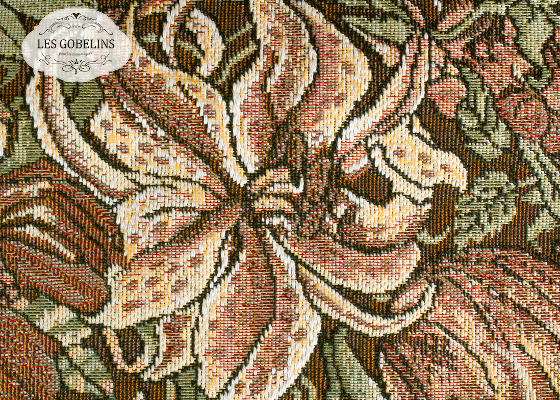 Покрывало Les Gobelins Накидка на диван Art Nouveau Lily (140х190 см)