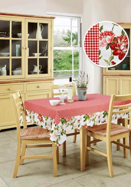 Скатерти и салфетки Kauffort Скатерть Kimberly Цвет: Красный (90х90 см) шторы kauffort классические шторы kimberly s цвет красный