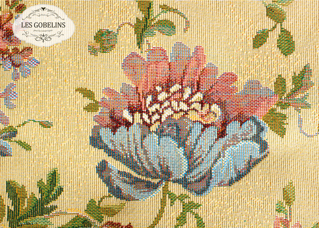 Покрывало Les Gobelins Накидка на диван Gloria (130х210 см) покрывало les gobelins накидка на диван gloria 140х210 см