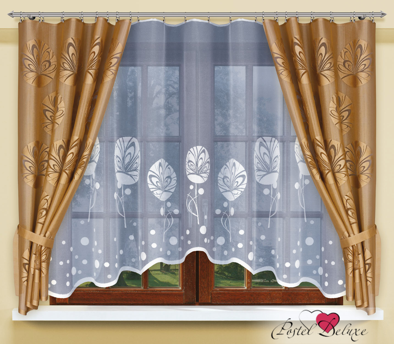 Шторы Haft Классические шторы Evas Цвет: Бронзовый шторы tac классические шторы winx цвет персиковый 200x265 см