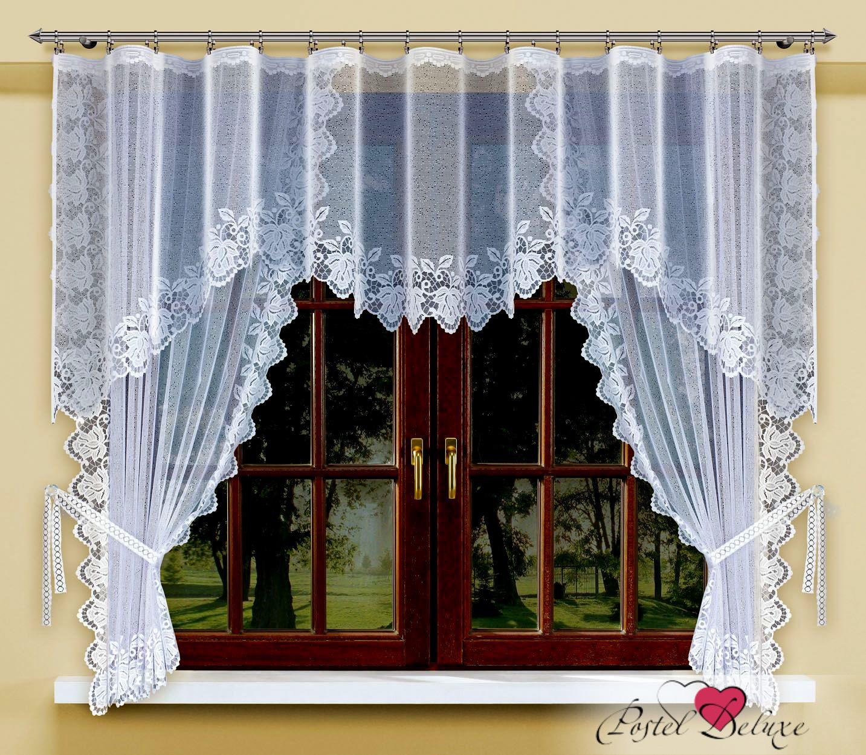 Шторы Haft Классические шторы Rilada Цвет: Белый шторы tac классические шторы winx цвет персиковый 200x265 см