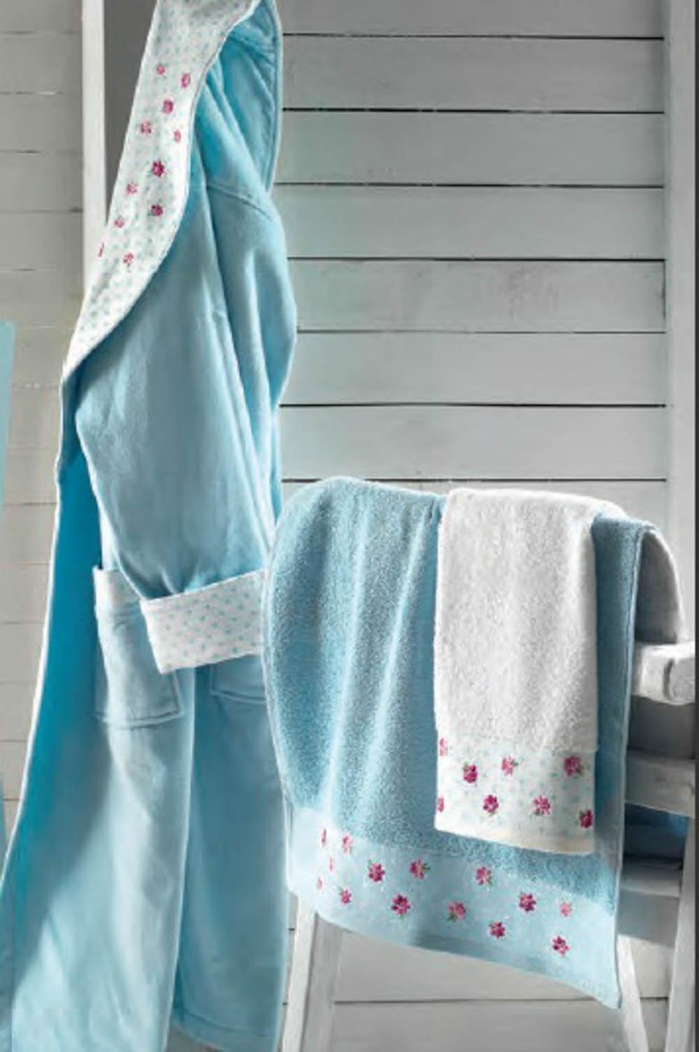 Полотенца Roseberry Полотенце Attacco Цвет: Бирюзовый (30х50 см) cite marilou полотенце 30x50 цвет голубой