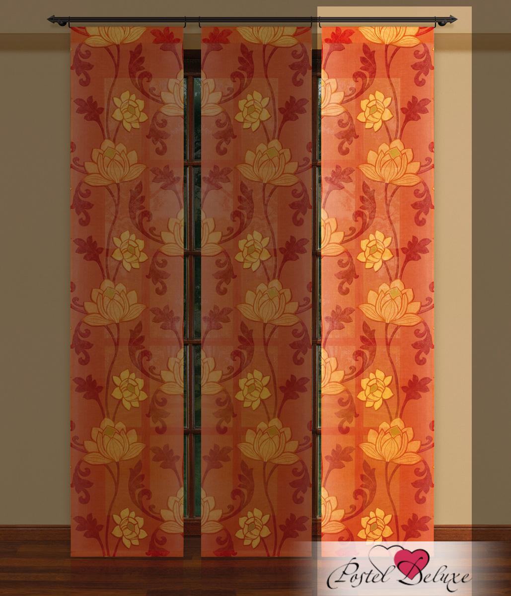Шторы Haft Японские шторы Nadison Цвет: Оранжевый