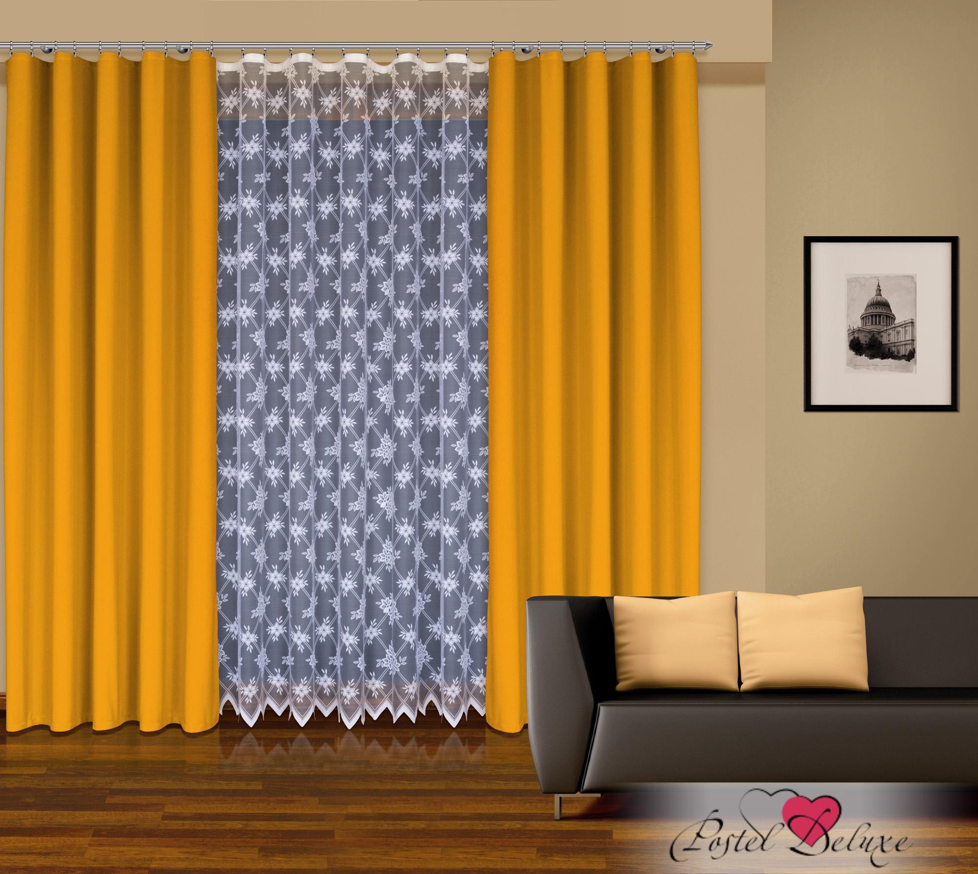 Шторы Haft Классические шторыNancyЦвет: Желтый шторы tac классические шторы winx цвет персиковый 200x265 см