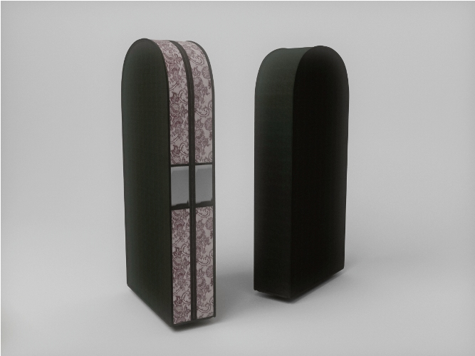 {} CoFreT Чехол для одежды Ажур (20х60х100 см) чехлы для одежды cofret чехол для шубы для хранения ажур 229