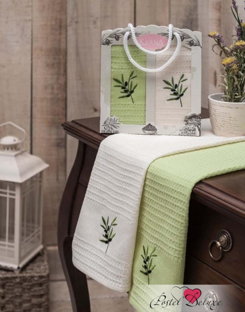 {} Karna Кухонное полотенце Jolly V6 (40х60 см - 2 шт)