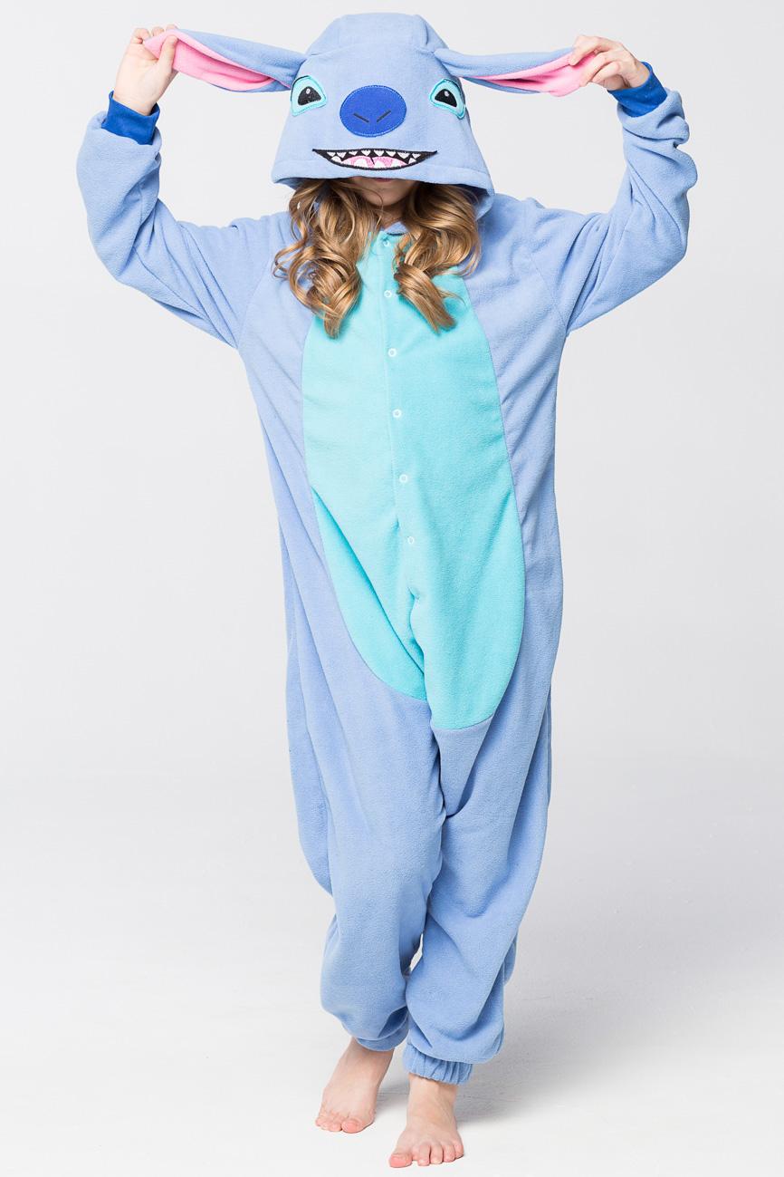 Детские пижамы Футужама Детская пижама-кигуруми Стич (4-6 лет) пижамы футужама пижама кигуруми тигр xs