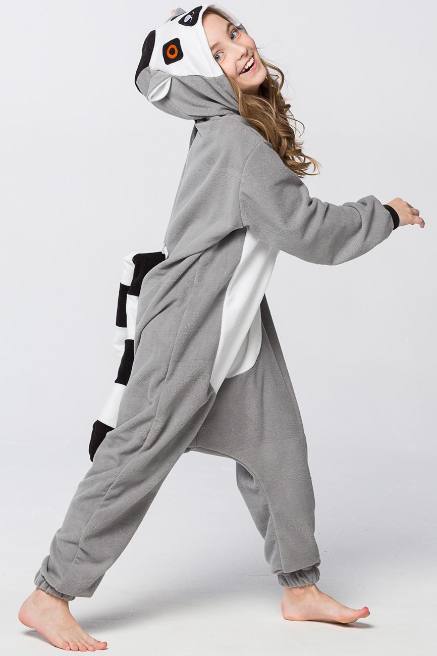 Детские пижамы Футужама Детская пижама-кигуруми Лемур (6-8 лет)