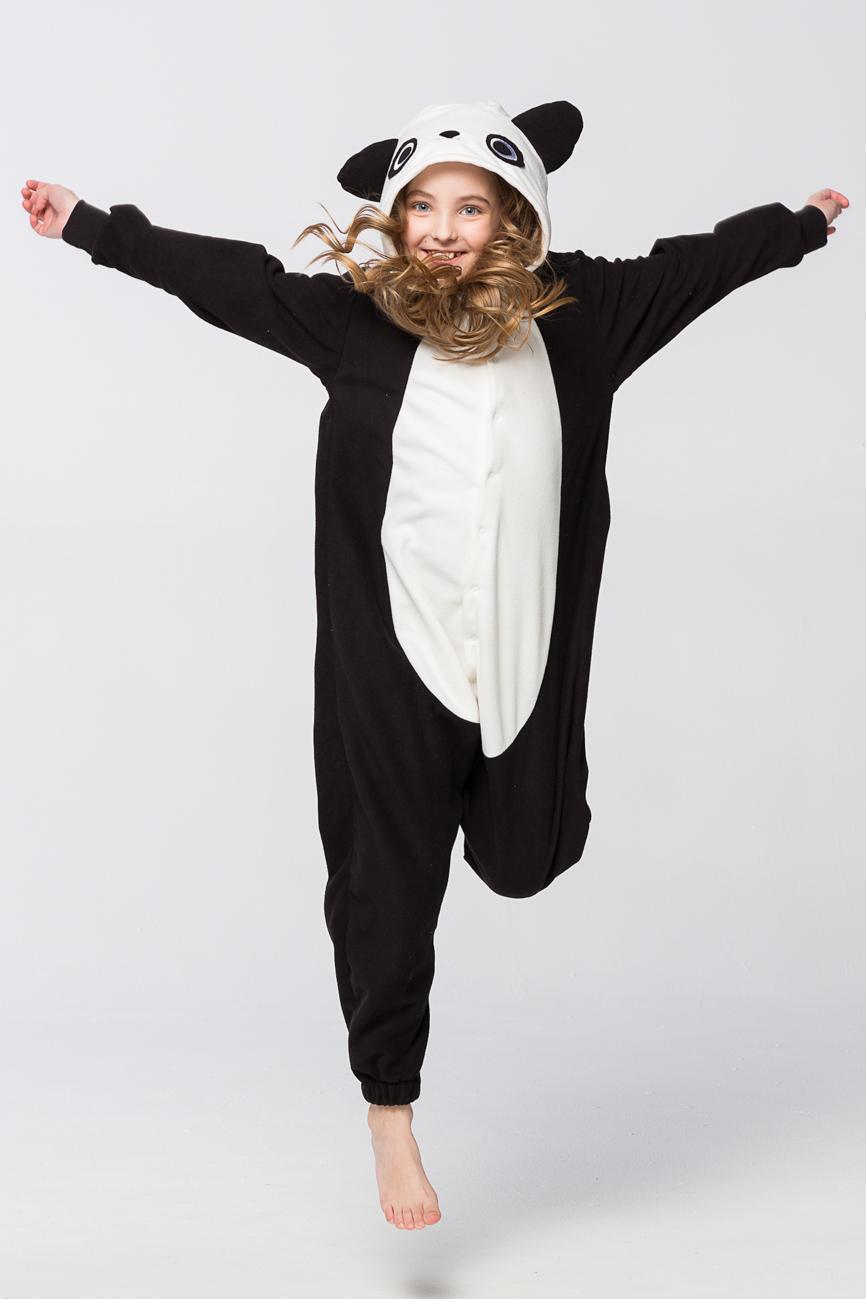 Детские пижамы Футужама Детская пижама-кигуруми Панда (6-8 лет)