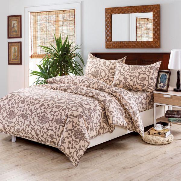 Постельное белье Valtery Постельное белье Larkin  (1,5 спал.) покрывало рафаэль поплин 150х215