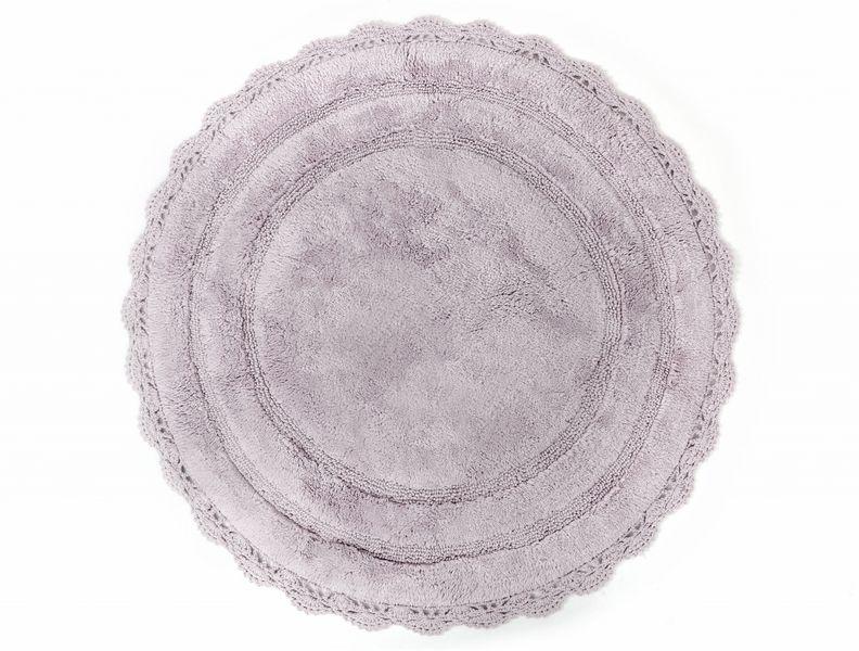 Аксессуары для ванной и туалета IRYA Коврик для ванной Anna Цвет: Фиолетовый (80х80 см) аксессуары для ванной и туалета irya коврик для ванной tropic цвет салатовый 60х100 см