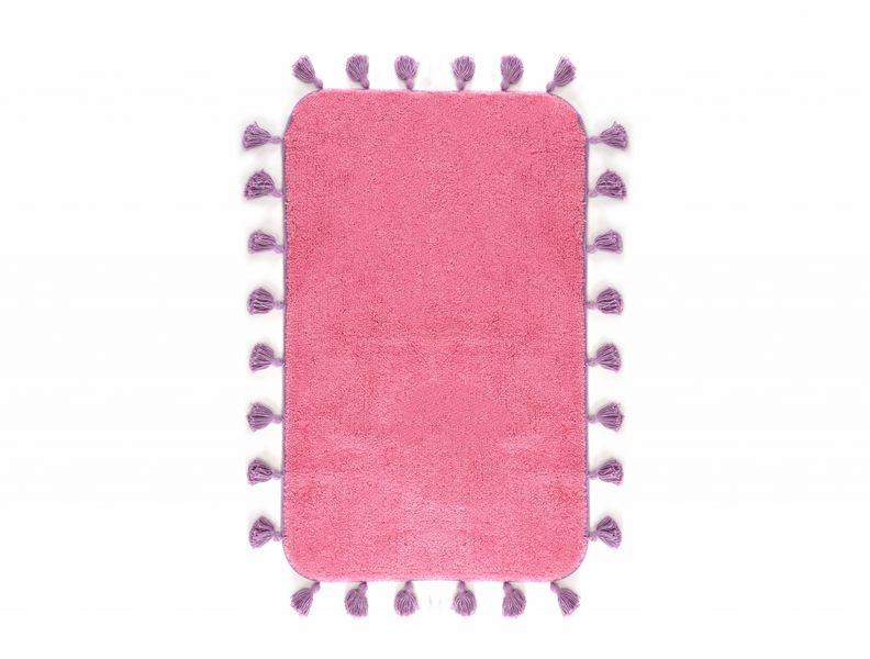 Аксессуары для ванной и туалета IRYA Коврик для ванной Joy Цвет: Розовый (60х90 см) аксессуары для ванной и туалета irya коврик для ванной tropic цвет салатовый 60х100 см