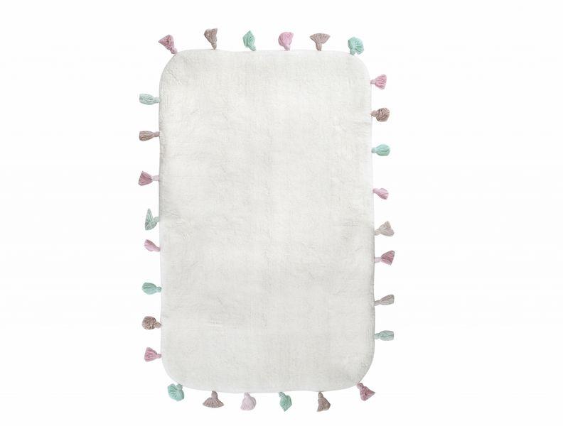 Аксессуары для ванной и туалета IRYA Коврик для ванной Lucca Цвет: Молочный (60х90 см) аксессуары для ванной и туалета irya коврик для ванной tropic цвет салатовый 60х100 см