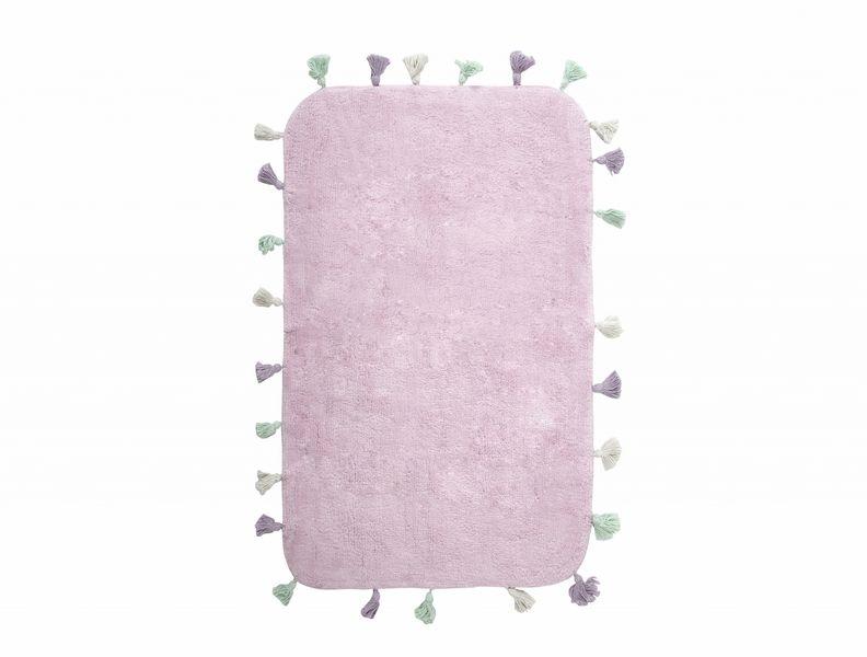Аксессуары для ванной и туалета IRYA Коврик для ванной Lucca Цвет: Розовый (60х90 см) аксессуары для ванной и туалета irya коврик для ванной tropic цвет салатовый 60х100 см