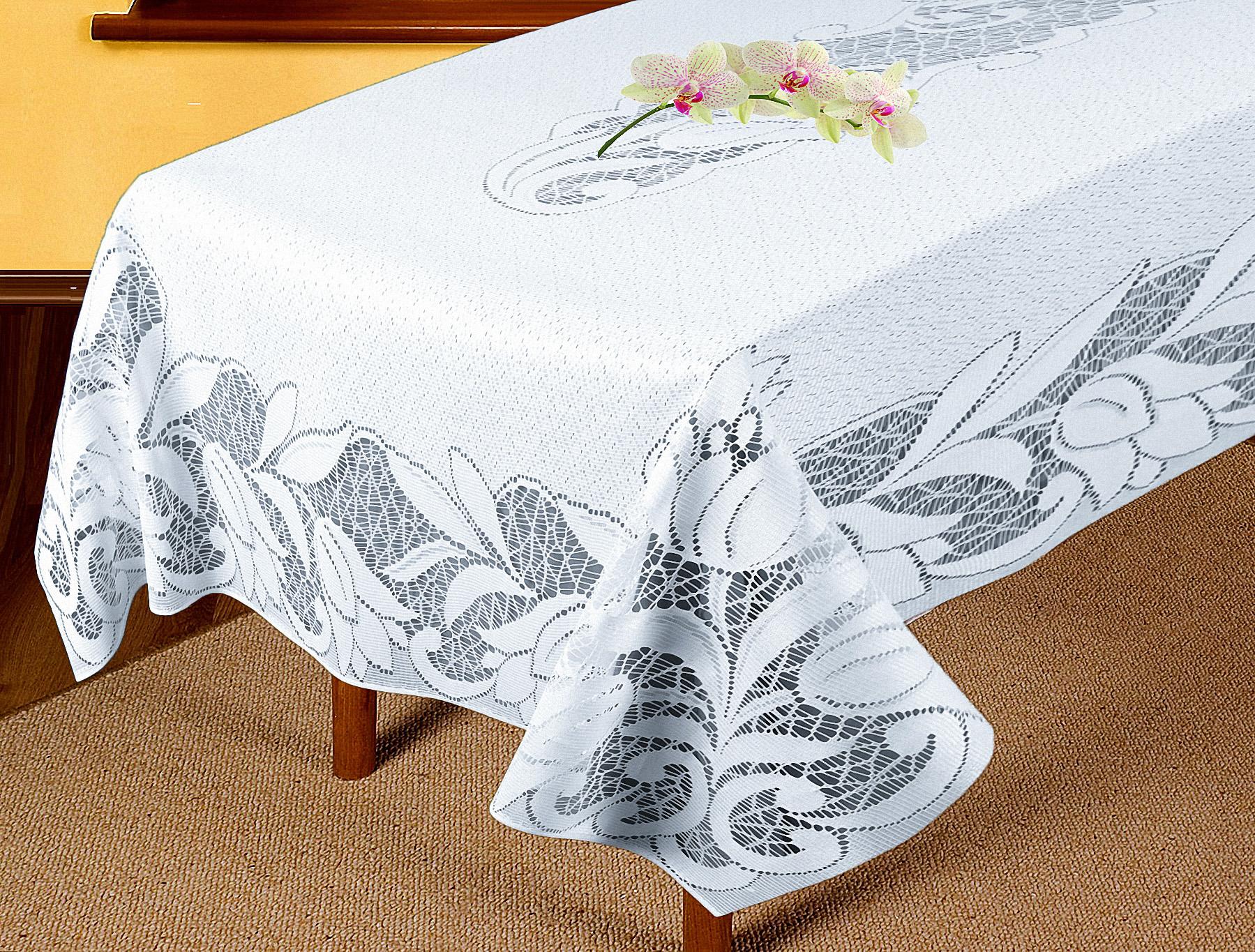 Скатерти и салфетки Elegante Скатерть Tamzen (120х165 см) скатерти и салфетки подушкино скатерть henna 140х180 см