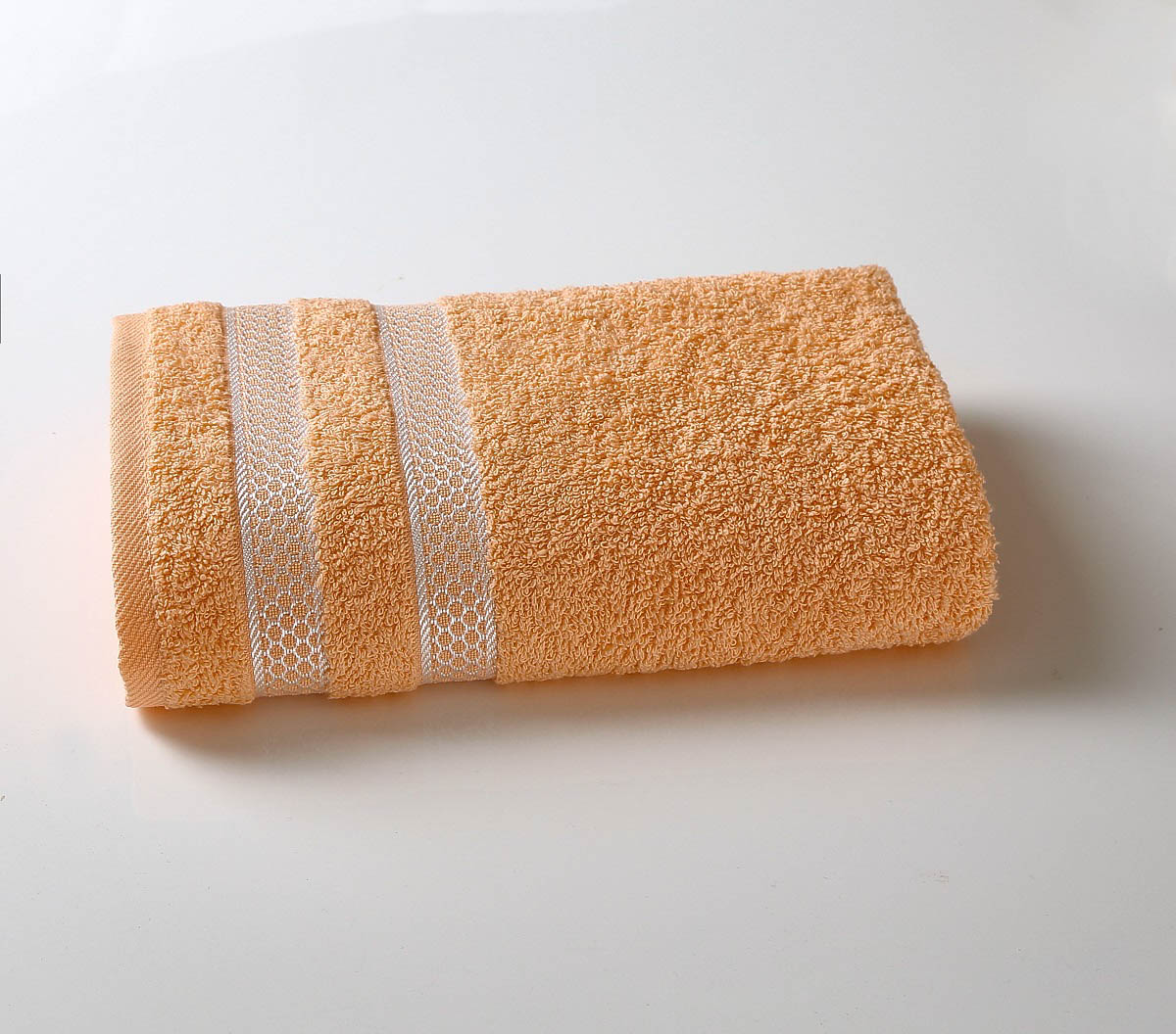 Полотенца Karna Полотенце Petek Цвет: Абрикосовый (70х140 см) полотенца karna полотенце iteka цвет коричневый 70х140 см
