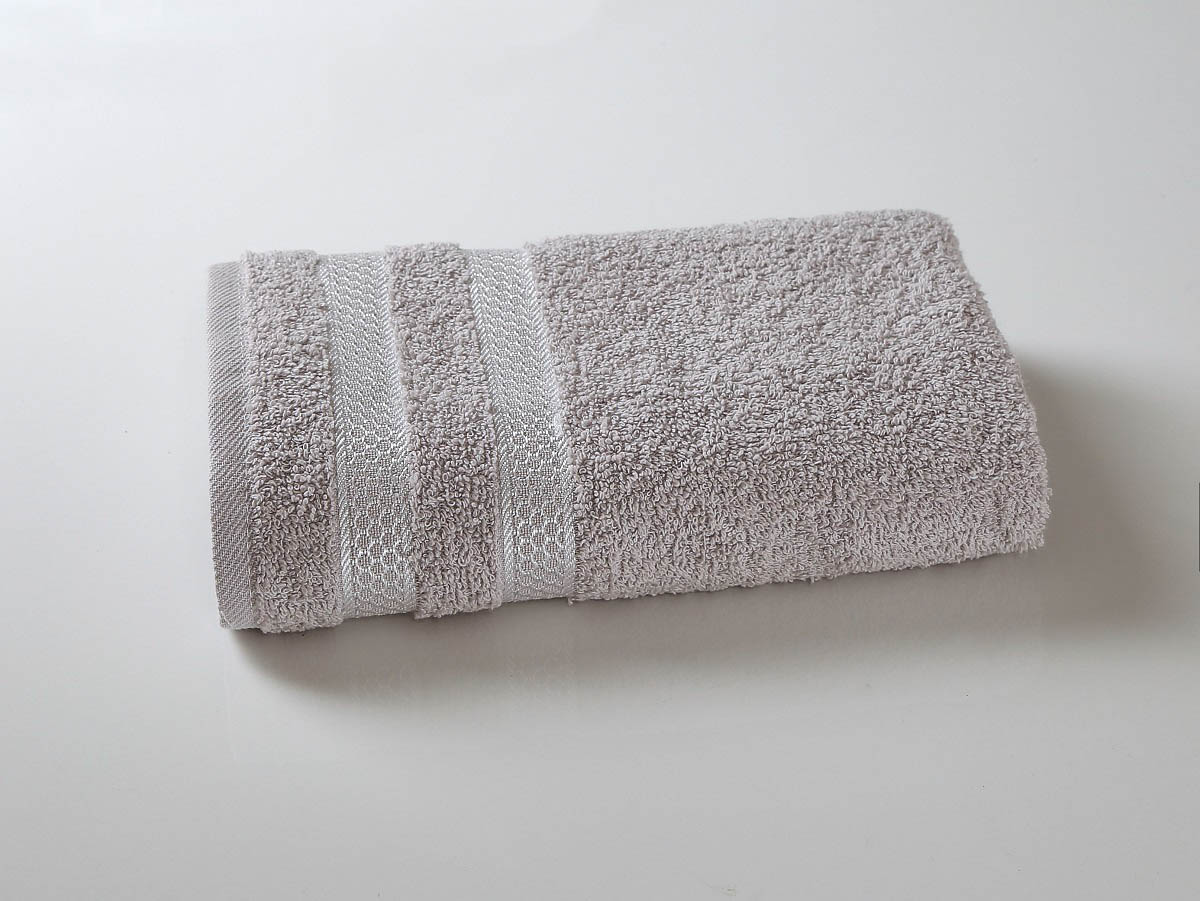 Полотенца Karna Полотенце Petek Цвет: Серый (100х150 см) наматрасник karna с пропиткой 120x200 см
