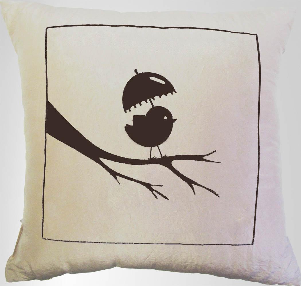 Декоративные подушки Primavelle Декоративная подушка Птичка С Зонтиком (45х45) панель декоративная awenta pet100 д вентилятора kw сатин