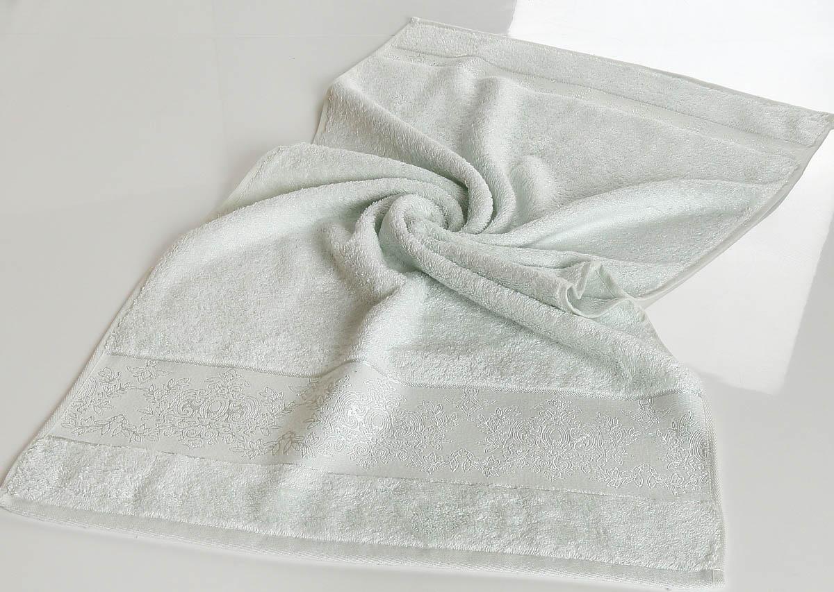 все цены на Полотенца Karna Полотенце Pandora - 1 Цвет: Светло-Зеленый (70х140 см) онлайн