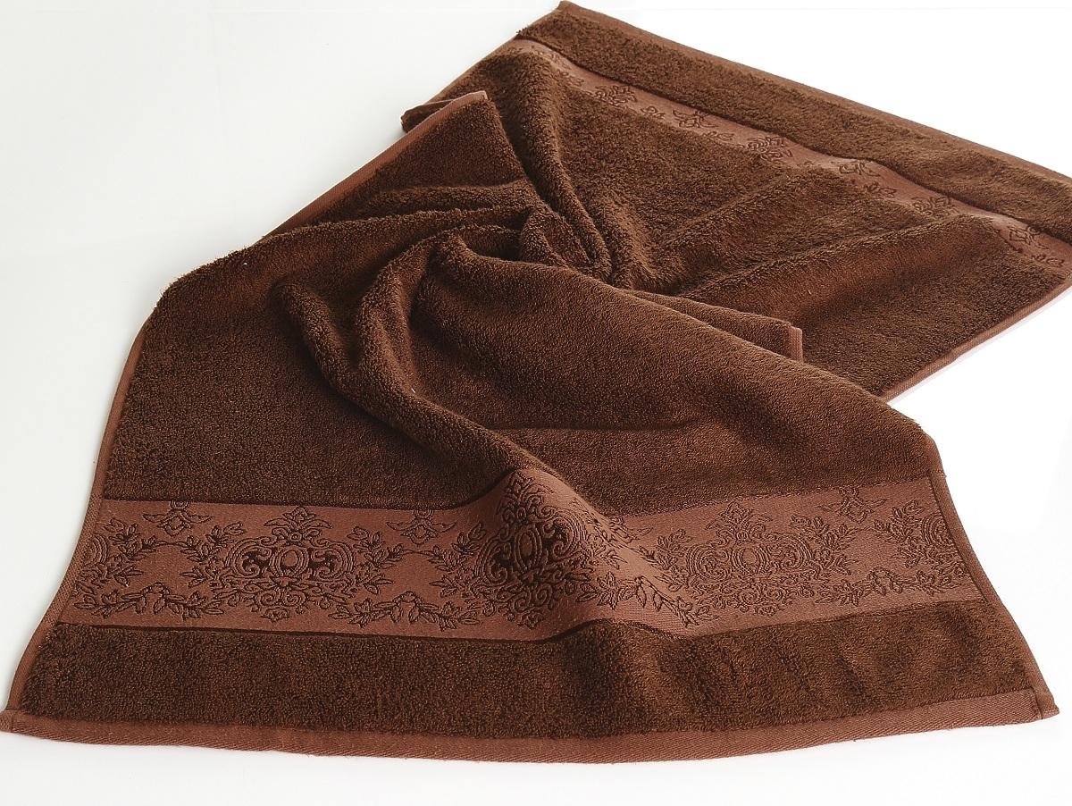 Полотенца Karna Полотенце Pandora - 3 Цвет: Темно-Коричневый (70х140 см) полотенца karna полотенце iteka цвет коричневый 70х140 см