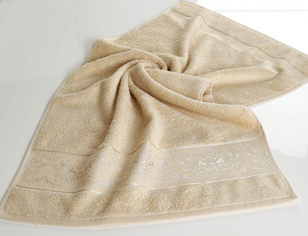 где купить Полотенца Karna Полотенце Pandora - 3 Цвет: Капучино (70х140 см) по лучшей цене